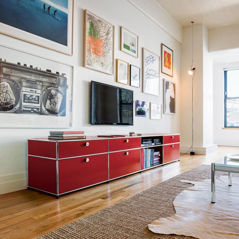 usm haller m bel von stiegele b rom bel in pforzheim. Black Bedroom Furniture Sets. Home Design Ideas